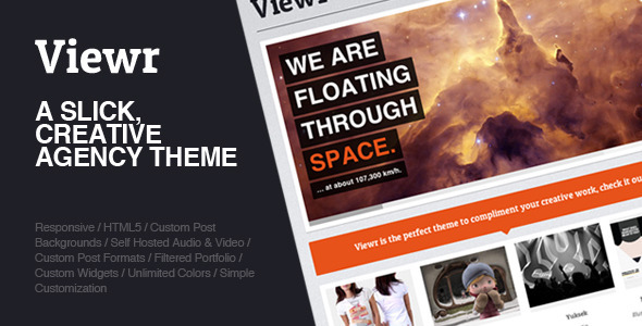 Viewr – Creative Agency Theme