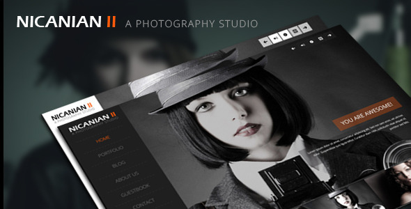 Nicanian II – Responsive WordPress Theme