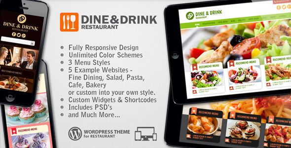 Dine & Drink – Restaurant Responsive WP Theme