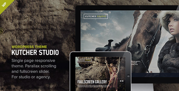 Kutcher Studio – Responsive WordPress Theme