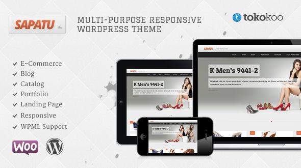 Sapatoo – Clean WooCommerce WordPress Theme