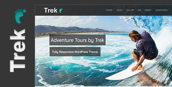 Trek – Responsive WordPress Tour/Travel Theme
