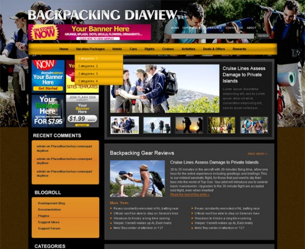 Backpacking Diaview