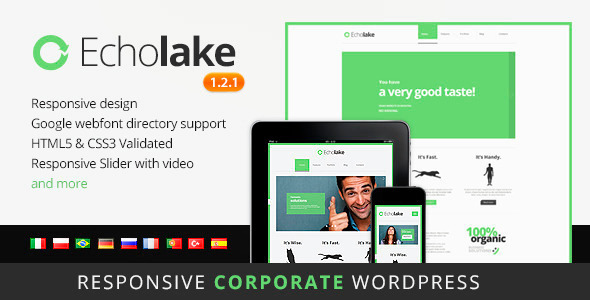 Echolake – Premium WordPress Theme