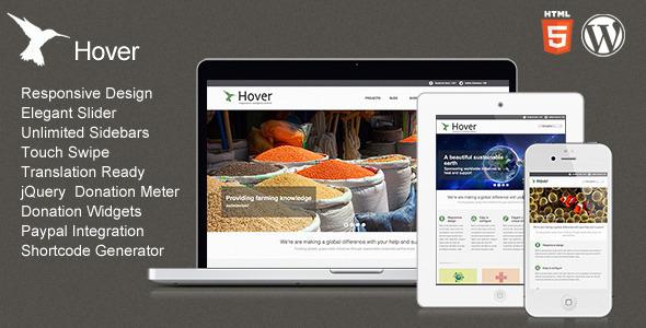 Hover – Responsive WordPress Theme