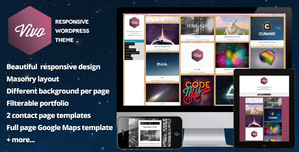 Vivo – Responsive WordPress Portfolio