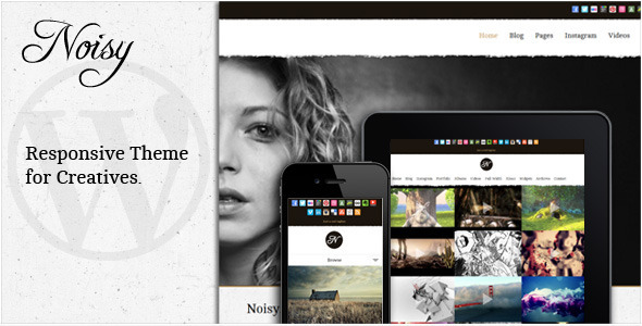 Noisy – Responsive Theme for Creatives
