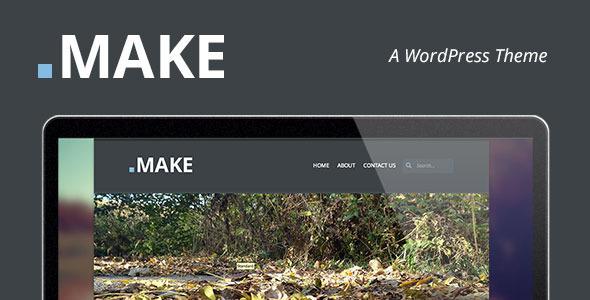 .Make: A WordPress Theme
