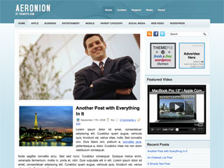 Aeronion  WordPress Theme Free Download