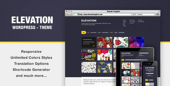 Elevation – Responsive WordPress Theme