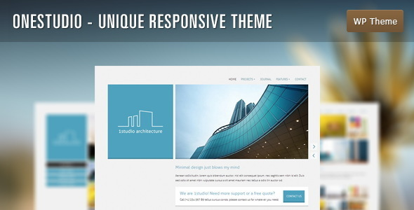 OneStudio – Unique Responsive Theme
