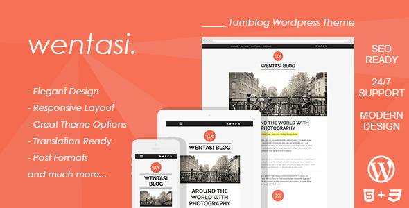 Wentasi : Amazing Tumblog Repsonsive Theme