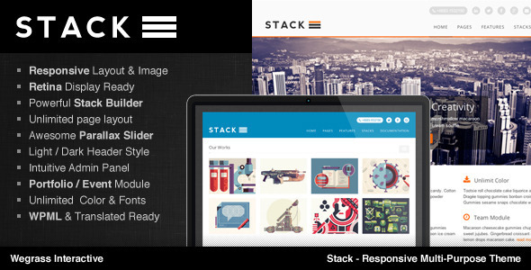 Stack – Responsive Multi-Purpose Theme