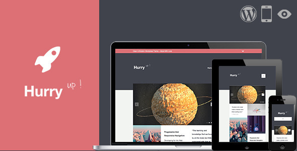 Hurry | Responsive & Retina Theme