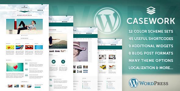 Casework WP – Design Studio Portfolio & Blog Theme