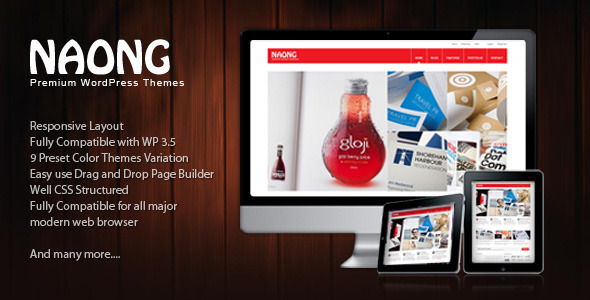 Naong – Premium Business WordPress Themes