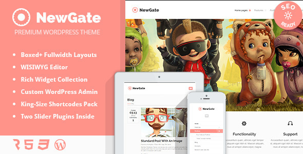 NewGate – Agency / Business WordPress Theme