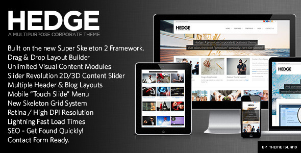 Hedge | A Unique Multipurpose Theme