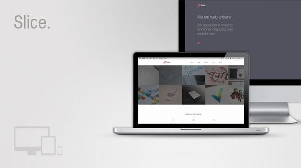 Slice – Creative Responsive WordPress Theme