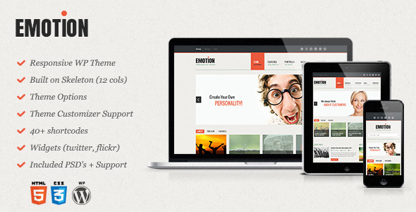 Emotion – Responsive WordPress Theme