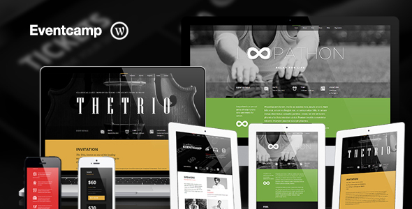 Eventcamp – Responsive One Page Marketing Theme