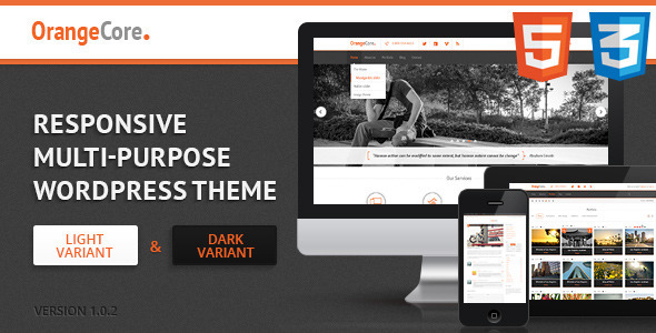 OrangeCore – Multi-Purpose WordPress Theme