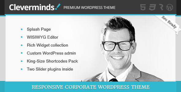 Cleverminds – Premium Business WordPress Theme