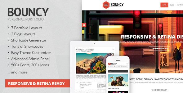 Bouncy – Responsive Multi-Purpose Theme