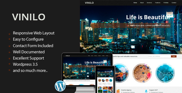 Vinilo – Responsive WordPress Theme