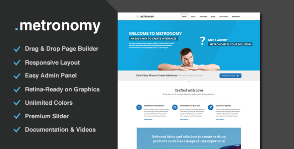 Metronomy – Responsive Multi-Purpose Theme