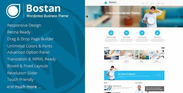Bostan – Retina Responsive Multi-Purpose Theme