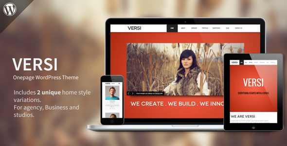 Versi – Onepage WordPress Theme