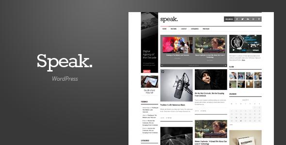 Speak – Magazine WordPress Theme