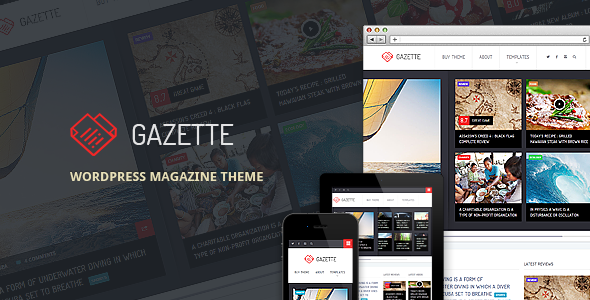 Gazette – WordPress Magazine Theme