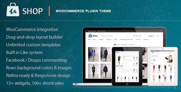 uShop – Responsive Retina WooCommerce Theme
