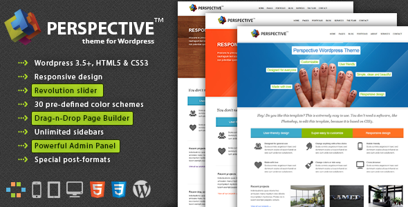 Perspective – Premium WordPress Theme