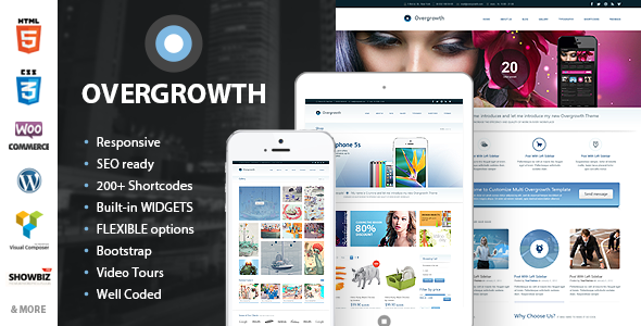 Overgrowth – Retina Responsive Multi-Purpose Theme