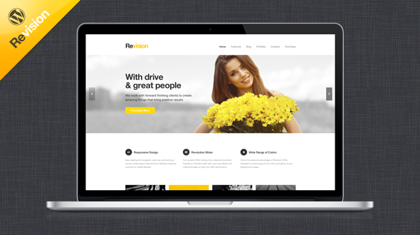 Revision Responsive WordPress Theme