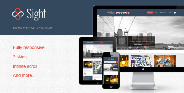 Sight – Infinite Blogging WordPress Theme