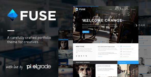 Fuse – Responsive Portfolio & Blog WordPress Theme