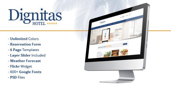 Dignitas – Hotel & Apartment Responsive Theme