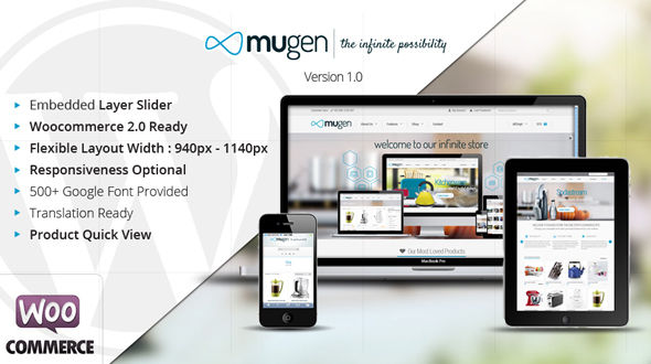 Mugen – Flexible Business & Woocommerce