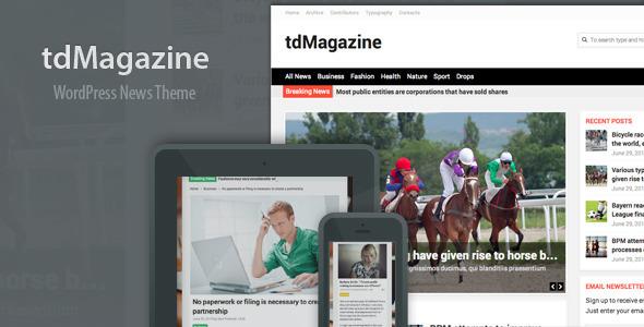 tdMagazine – WordPress News Theme