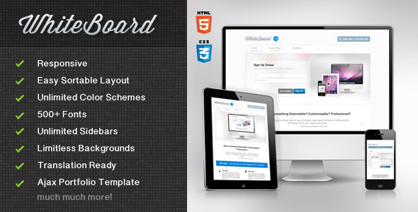 WhiteBoard WordPress Theme