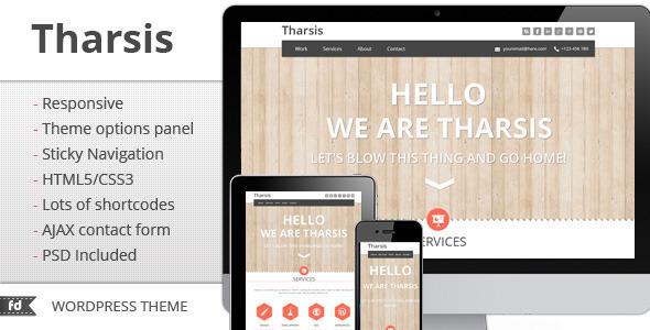 Tharsis – Responsive Portfolio theme