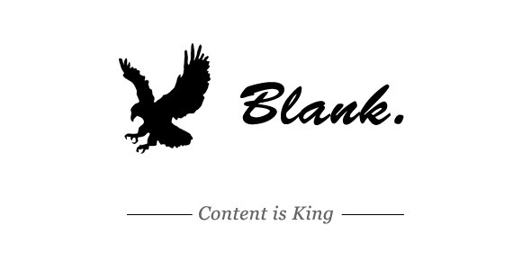 Blank – Elegant and Minimalist WordPress Blog