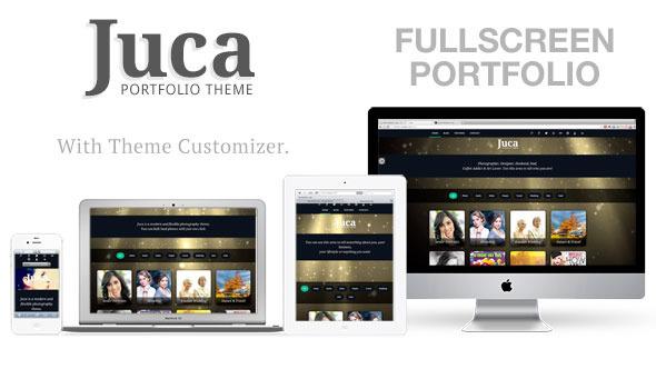 Juca – Fullscreen Portfolio