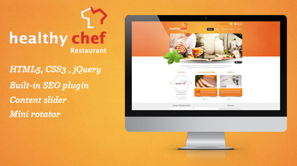 Healthy Chef – Restaurant Theme