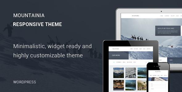 Mountainia WordPress Theme