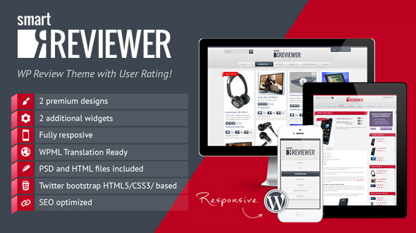 SmartReviwer – WP Theme for product reviews